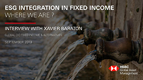 ESG Integration in Fixed Income  – Where we are ?